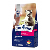 Club 4 paws сухой корм для щенков всех пород (целый мешок 20 кг)