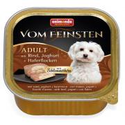 Vom Feinsten с говядиной йогуртом и овсяными хлопьями, 150 г