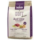 Bosch Soft Senior сухой корм для пожилых собак с чувствительным пищеварением, склонных к аллергии и пищевой непереносимости с козлятиной и картофелем (целый мешок 2.5 кг)