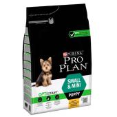 Pro Plan Small&Mini Puppy для щенков мелких и карликовых пород с курицей (целый мешок 7 кг)
