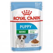 Royal Canin Mini Puppy влажный корм для щенков всех пород от 2 до 10 месяцев в соусе, 85 г