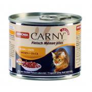 Carny Adult консервы с курицей, индейкой и сердцем утки