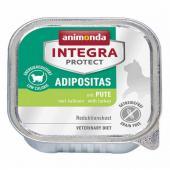 Animonda Integra Protect Adipositas паштет для кошек с индейкой.
