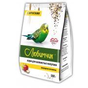 Любимчик корм для волнистых попугаев природные витамины с фруктами, 500 г