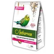 Любимчик корм для волнистых попугаев здоровье и активность стандарт, 500 г