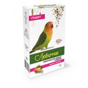 Любимчик зерносмесь для средних попугаев здоровье и активность, 400 г