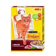 Friskies сухой корм для кошек с мясом и полезными овощами