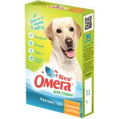 """Омега Neo """"Здоровые суставы"""" витамины-лакомство с глюкозамином и коллагеном для собак, 90 таб."""