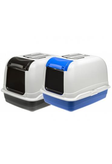 Ferplast Maxi Bella Cabrio закрытый туалет для кошек с открывающимся люком, 50 x 65,5 x 47 см