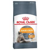 Royal Canin Hair&Skin Care сухой корм для взрослых кошек в целях поддержания здоровья кожи и шерсти, 400 г