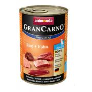 Gran Carno для щенков с говядиной и курицей, 400 г