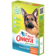 """Омега Neo """"Крепкое здоровье"""" витамины-лакомство с морскими водорослями для собак, 90 таб."""