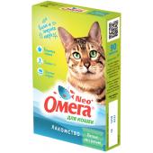 """Омега Neo """"Мятное настроение"""" витамины-лакомство с кошачьей мятой для кошек, 90 таб."""