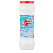 Mr.Fresh порошок-ликвидатор запаха и пятен для кошачьих туалетов, 500 г