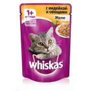 Whiskas желе с индейкой и овощами