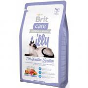 Brit Care Lilly I've Sensitive Digestion гипоаллергенный сухой корм для кошек с чувствительным пищеварением с ягненком и лососем (на развес)