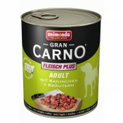 Gran Carno Adult с кроликом и зеленью