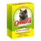Омега Neo, витамины для кошек с протеином + L-карнитин