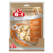 Жевательные кости с куриным мясом внутри для собак от 2 до 12 кг, 21 шт.