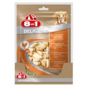 Жевательные кости с куриным мясом внутри для собак от 2 до 12 кг, 14 шт.