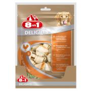 Жевательные кости с куриным мясом внутри для собак от 2 до 27 кг, 6 шт.