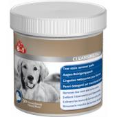 Диски влажные для удаления пятен от слез и слюны, для собак, 90 шт.