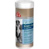 Эксель пивные дрожжи для собак крупных пород, 80 табл.