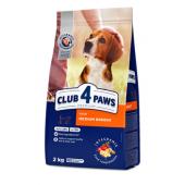 Club 4 paws сухой корм для взрослых собак средних и крупных пород (целый мешок 20 кг)