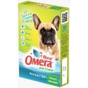 """Омега Neo """"Свежее дыхание"""" витамины-лакомство с перечной мятой, имбирём и морепродуктами для собак, 90 таб."""