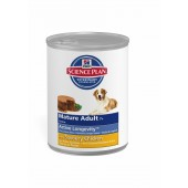 Hill's Science Plan Canine Mature Adult/Senior 7+ Savoury Chicken для собак старше 7 лет с курицей 8055