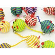 Мяч игрушка в форме мышки для кошек