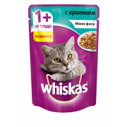 Whiskas мини-филе с кроликом