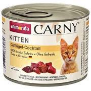 Carny Kitten консервы коктейль из мяса домашней птицы для котят, 200г
