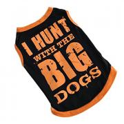 Летняя одежда Big Dogs Orange для собак мелких пород, размер S