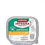 Animonda Integra Protect Adipositas  влажный диетический корм для кошек для профилактики избыточного веса с уткой.