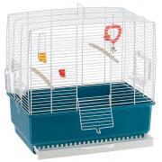 Ferplast клетка для птиц  REKORD 3  (белая) 49 x 30 x h 48,5 cm