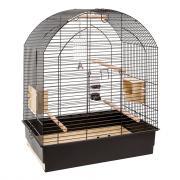 Ferplast Greta Black клетка для корелл и волнистых попугайчиков, 69,5 x 44,5 x 84 см