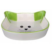 Trixie керамическая миска для кошек и собак мелких пород, 0,25 л/ 12 см