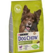 Dog Chow корм для собак старше 1 года с ягненком (целый мешок 2.5 кг)