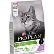 Pro Plan Sterilised cухой корм для стерилизованных кошек и кастрированных котов с индейкой (целый мешок 3 кг)