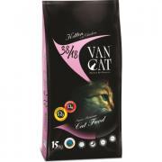 Van Cat сухой корм для котят, ягненок (целый мешок 15 кг)