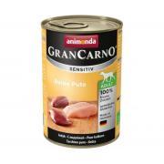 Gran Carno Adult для взрослых собак с чувств. пищеварением с индейкой 400 гр