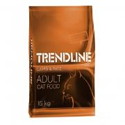 Trendline Adult Сat сухой корм для кошек со вкусом ягненка и риса (целый мешок 15 кг)