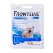 Фронтлайн пипетки для собак 10-20 кг от блох, власоедов и клещей 1.34 мл