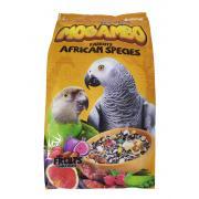 Kiki Excellent Mogambo полнорационный корм для африканских попугаев, 1 кг