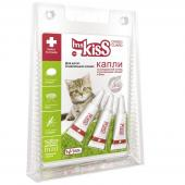 Ms. Kiss капли от клещей и насекомых для котят и маленьких кошек 1 пипетка