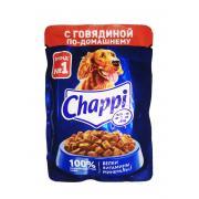Chappi для взрослых собак всех пород с говядиной по-домашнему, 85 г