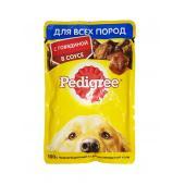 Pedigree для взрослых собак всех пород c говядиной в соусе, 85 г