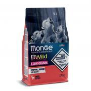 Monge Puppy and Junior all Breeds Natural Super Premium Deer Cervo, полноценный рацион для щенков всех пород, с олениной, супер премиум качества (целый мешок 12 кг)