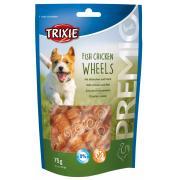 Trixie Premio лакомства для собак, рыбные и куриные колеса 75 гр